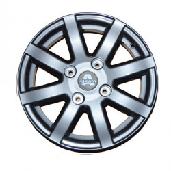"6AK080 ALLOY WHEEL RIM 14"" AIXAM CITY SPORT SCOUTY"