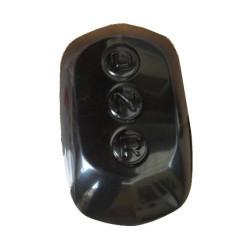 3AA058 BLACK GEAR SHIFT KNOB CAP AIXAM A.721 SCOUTY CITY IMPULSION CROSSOVER