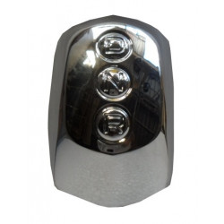 3AA059 CHROME GEAR SHIFT KNOB CAP AIXAM A.721 SCOUTY CITY IMPULSION CROSSOVER