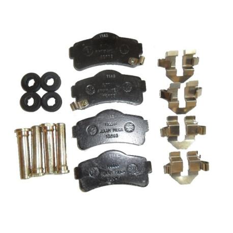 6AR065 FRONT BRAKE PADS AIXAM GTO CROSSOVER CITY COUPE MINAUTO VISION SENSATION