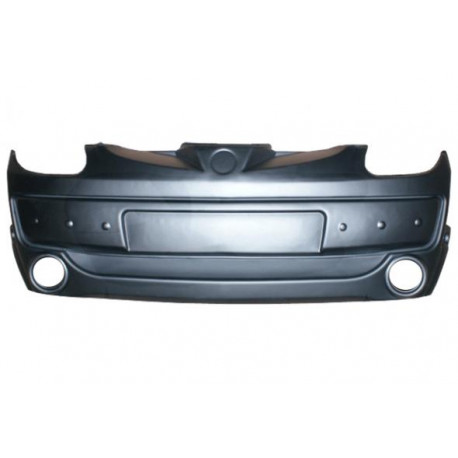 7AA019 FRONT BUMPER AIXAM A.721 741 751 SCOUTY CROSSLINE WITH FOG LIGHTS