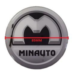 7XB324 BADGE / EMBLEM AIXAM MINAUTO CROSSLINE MINAUTO