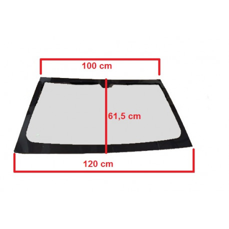 1400610 TINTED WINDSCREEN / WINDSHIELD MICROCAR M8