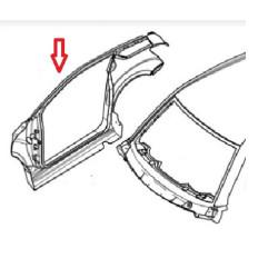 1402146 PANNELLO FIANCATA LATERALE DX LIGIER JS50