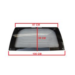BAF33-0007198 HEATED TINTED REAR WINDSCREEN / CAR WINDOW GRECAV EKE LM4 LM5