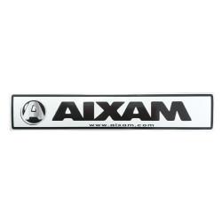 OE212 BUMPER STICKER AIXAM