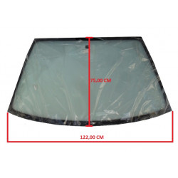 KIN763001001 TINTED WINDSCREEN / WINDSHIELD ITALCAR T2 T3