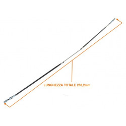 KIN407001018 HANDBRAKE CABLE ITALCAR T2 T3 KING