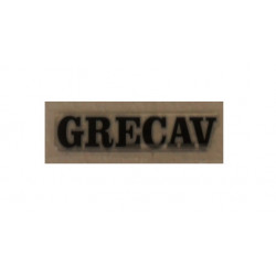 "BAF90-0009518 TAILGATE BADGE / STICKER BLACK ""GRECAV"" EKE LM4 LM5"