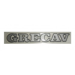 "BAF90-0007866 TAILGATE BADGE / STICKER GREY ""GRECAV"" EKE LM4"