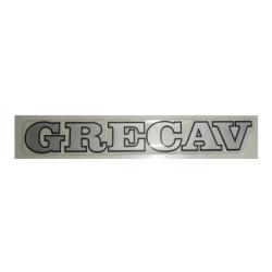 "BAF90-0007866 TAILGATE BADGE / STICKER GREY ""GRECAV"" EKE LM4"