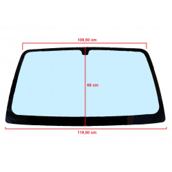 P0019044480 TINTED WINDSCREEN / WINDSHIELD CASALINI KERRY LIGIER X-PRO