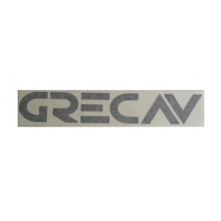 BCR90-0016102 BLACK BUMPER STICKER GRECAV SONIQUE