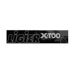 0083753 AUFKLEBER STOßSTANGE LIGIER X-TOO MAX