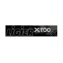 0083753 BUMPER STICKER LIGIER X-TOO MAX