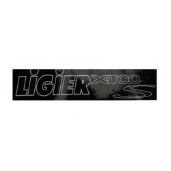 0083877 BUMPER STICKER LIGIER X-TOO S
