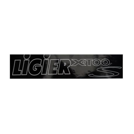 0083877 BUMPER STICKER LIGIER X-TOO S