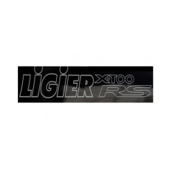 0083899 BUMPER STICKER LIGIER X-TOO RS