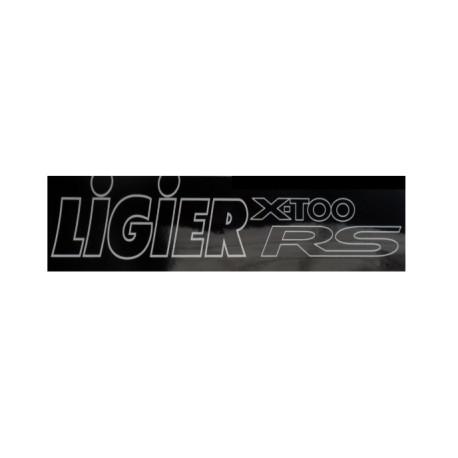 0083899 BUMPER STICKER LIGIER X-TOO RS