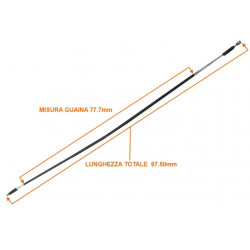 1006822 HANDBRAKE CABLE MICROCAR MC1 97,5 CM