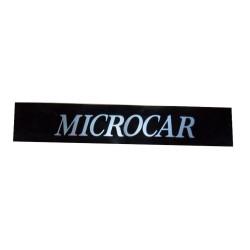 1001331 AUFKLEBER STOßSTANGE MICROCAR VIRGO III MC1 MC2