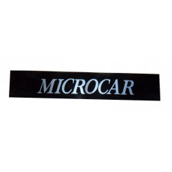 1001331 BUMPER STICKER MICROCAR VIRGO III MC1 MC2