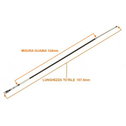 1003409 HANDBRAKE CABLE MICROCAR MC2 157,5 CM
