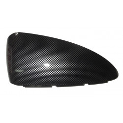 7AP204X RIGHT CARBON LOOK WING MIRROR COVER AIXAM IMPULSION CROSSOVER COUPE