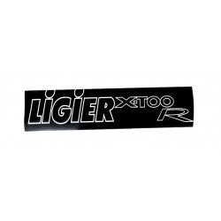 0083854 BUMPER STICKER LIGIER X-TOO R