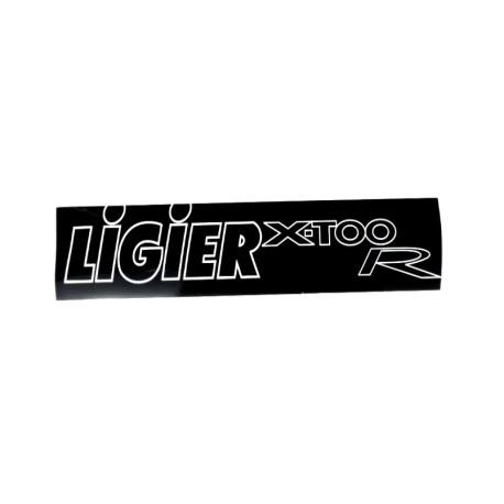 0083854 AUFKLEBER STOßSTANGE LIGIER X-TOO R
