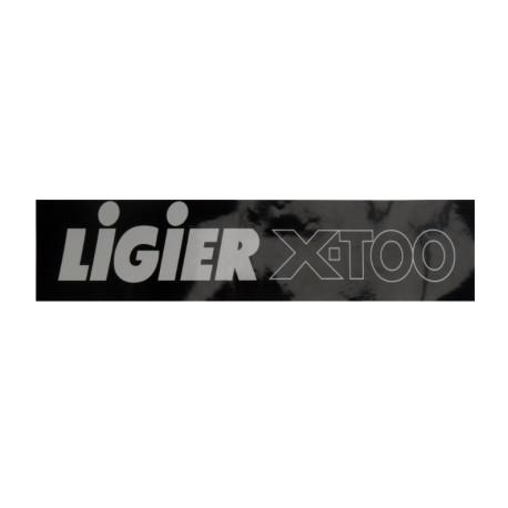 0083636 BUMPER STICKER LIGIER X-TOO
