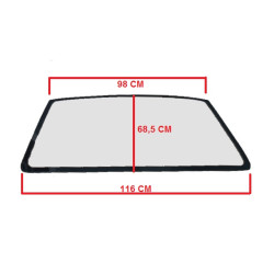 0680268 TINTED WINDSCREEN / WINDSHIELD MICROCAR LYRA