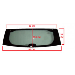 7AR114V REAR WINDSCREEN / CAR WINDOW AIXAM CITY IMPULSION MINAUTO