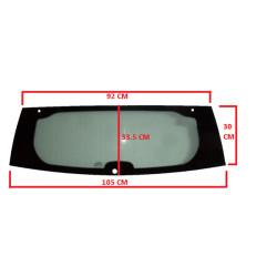 7AR114V REAR WINDSCREEN / CAR WINDOW AIXAM CITY IMPULSION MINAUTO