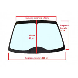 0041082 TINTED WINDSCREEN / WINDSHIELD LIGIER BE TWO BE UP